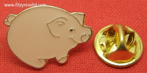 Pig Piglet Lapel / Tie / Hat or Cap Pin Badge - Brooch - Farmers Gift Brand New